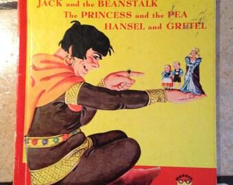 1949 Famous Fairy Tales Children's Wonder Book