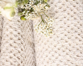 RW429 antique hemp french 천 PALE upholstery 6.77 yards TOWEL laundered handloomed STAIRUNNER  benchcushion Beachhouse look