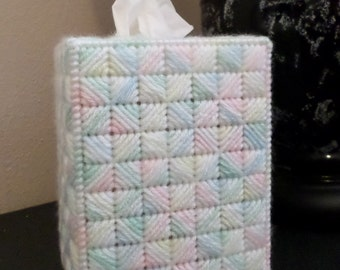 Boutique Tissue Box Cover - Baby Print