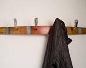 Golf Club Wine Barrel Coat Rack