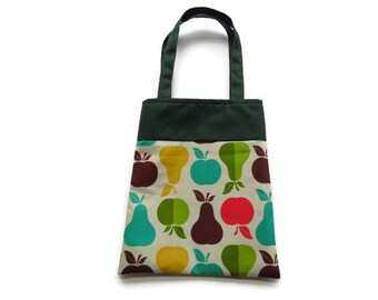 Fabric Gift/Goodie Bags - Apples and Pears