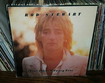Rod Stewart Foot Loose & Fancy Free Vintage Vinyl Record