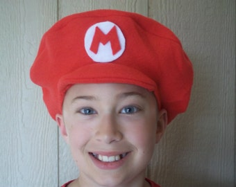 Super Mario hat- one size fits all