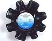 Jethro Tull Vinyl Record Album Bowl Vintage LP 1971 (Aqualung) Blue Label
