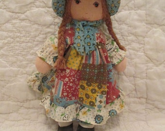 "Vintage Hollie Hobbie 9"" Doll Knickerbocker soft doll"