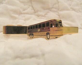 Vintage Tie Clip Crusader Bus