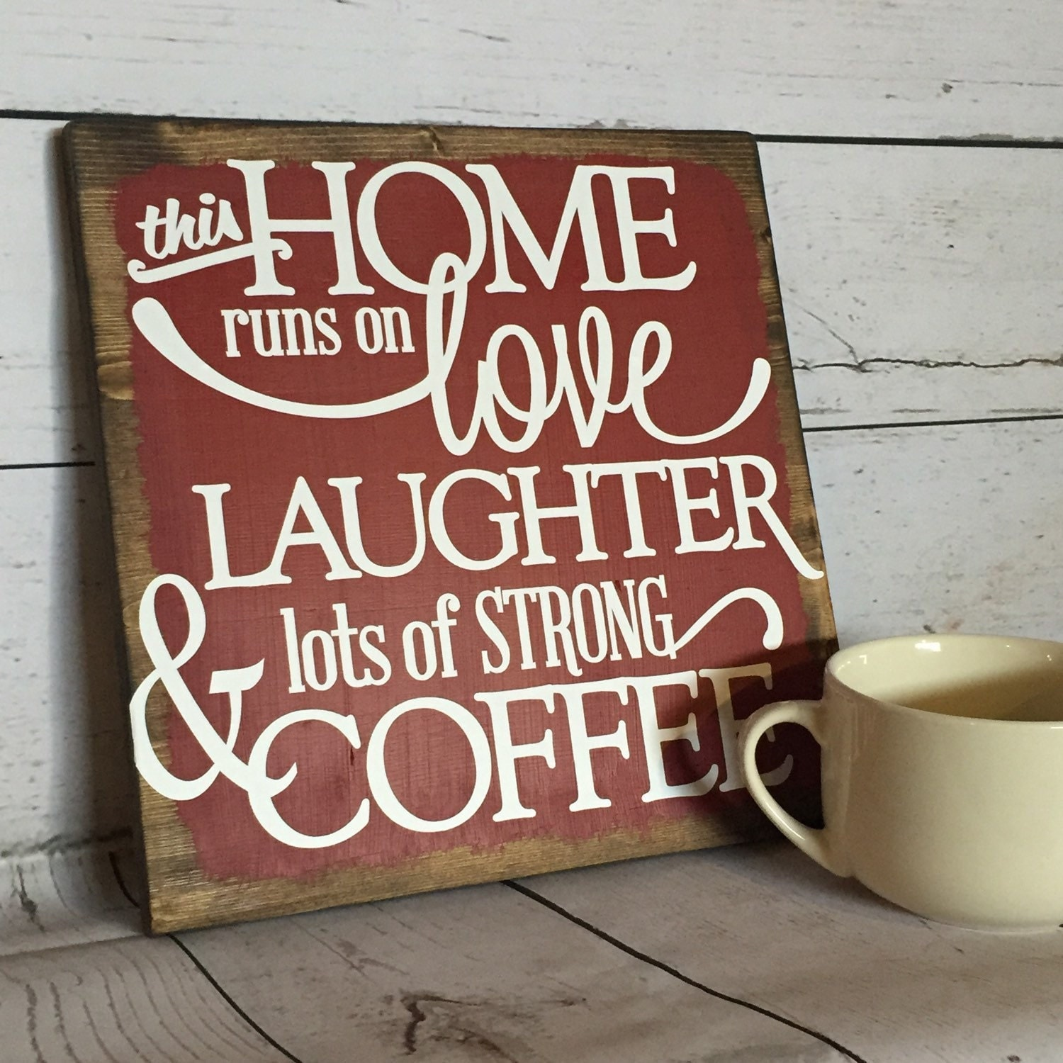Kitchen Coffee Signs: Coffee Sign Java Shop Coffee Shop Family Decor Kitchen