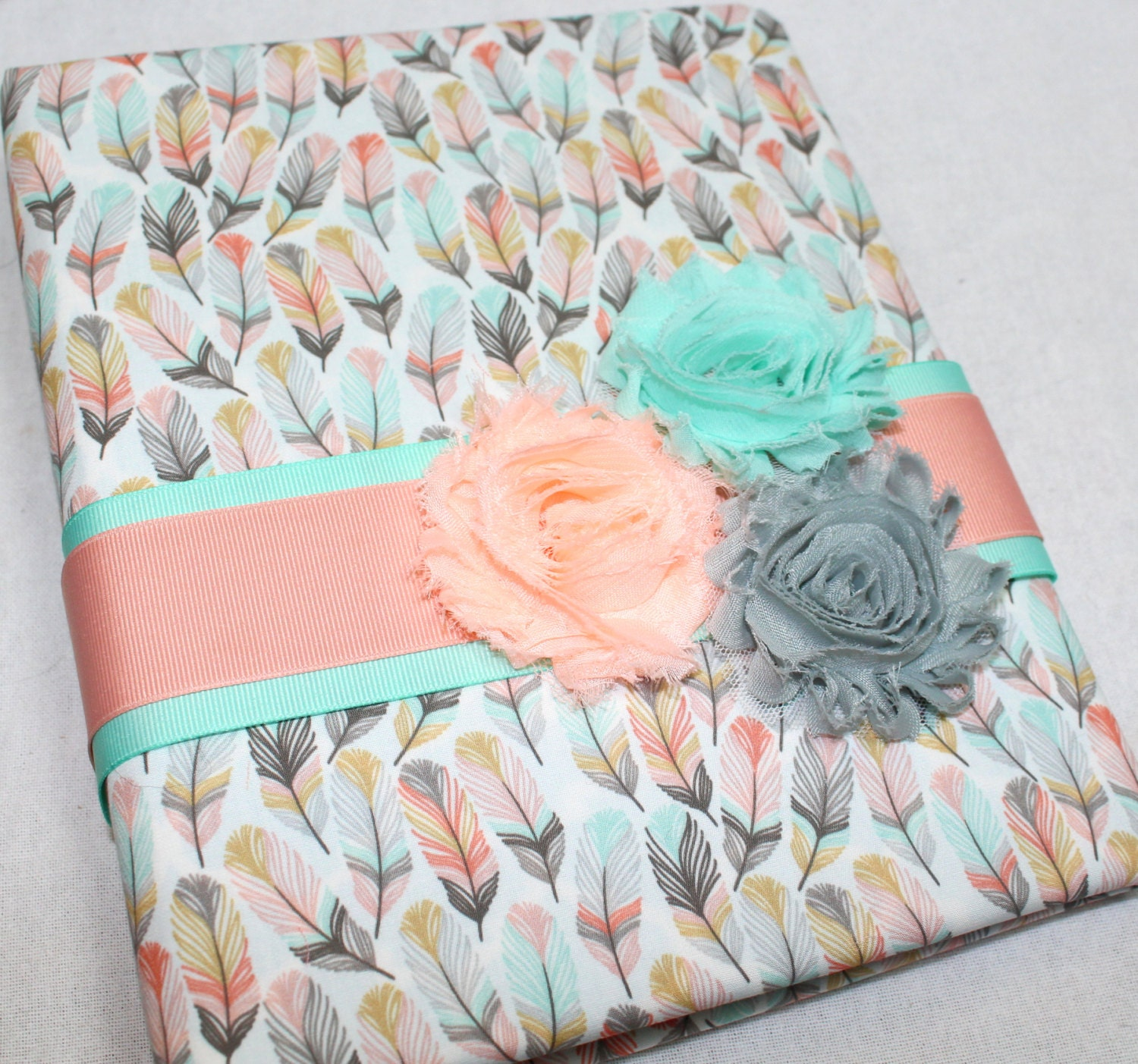 Baby Journal Feathers Arrows Baby Memory Book Baby Girl