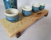 ECO Knotty raised Rock Maple sushi/serving board/cutting board