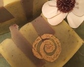 SALE Patchouli and Verbena Herbal Soap BLOWOUT SALE