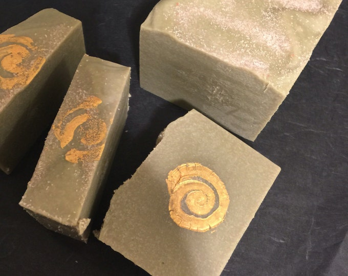 Super Fine Lavender Soap With Mediterranian Sea Salt and French Green Clay
