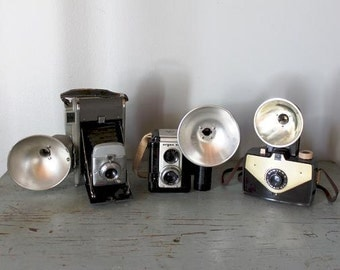 vintage Camera Collection / vintage Land camera and more