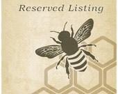 Reserved Listing for Jieun Newland