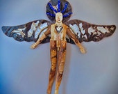 Desert Night Angel - Lost and Found Series - Folk Art Angel