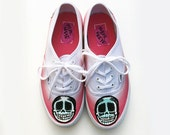 Pink Ombre Hand Painted kicks size 7
