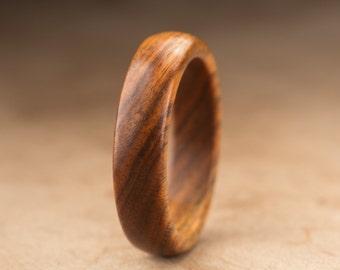 Size 10 - Guayacan Wood Ring No. 365