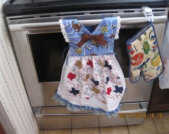 Texas Kitchen Towel Dress