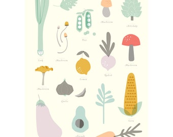 ON SALE A1 Poster - Vegies