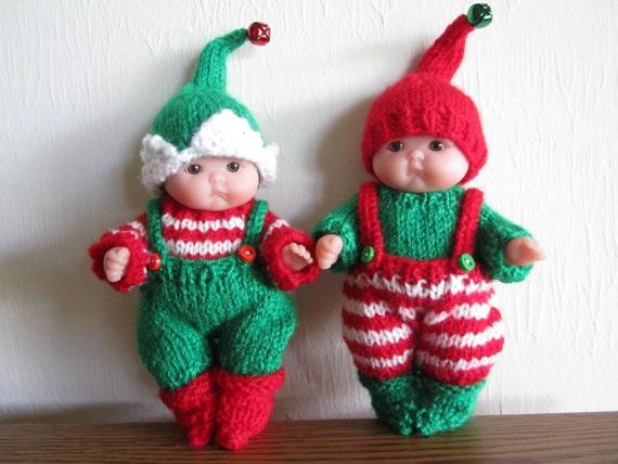 Knitting Terms Kfb : Santa s itty bitty elf knitting pattern inch chubby lots