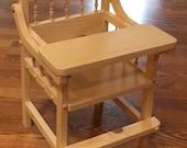 Bella Rocker Doll High Chair for Lorie