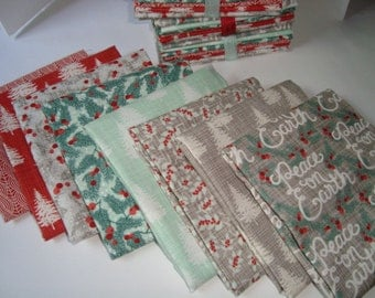 Winterberry by Kate and Birdie for Moda Fat Quarter set