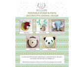Friendly, Furry and Faux! A Collection of Five Animal Trophy Heads pdf pattern download
