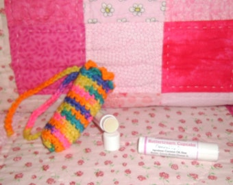Buttercream Cupcake Lip Balm and Cuticle Softener