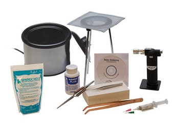 11 Piece Soldering Tool Kit With Pickle Pot And DVD