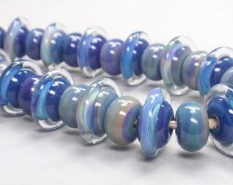 29  handmade lampwork beads