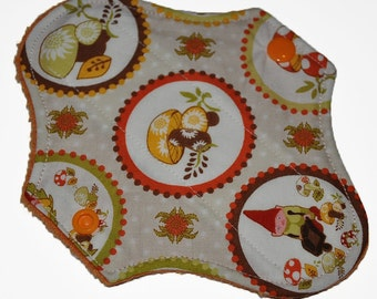 Liner Core- Better Gnomes and Gardens Reusable Cloth Petite Pad- 6.5 Inches