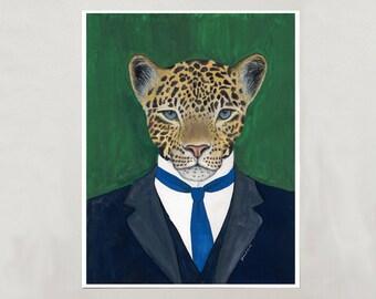 Art Print - Leopard - Signed by Artist -- 8x10 // 16x20 // 22x28