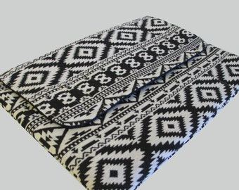 MacBook Air Sleeve, MacBook Air Case, MacBook Air 11 Inch Sleeve, MacBook Air 11 Case, MacBook Air Cover Black Aztec