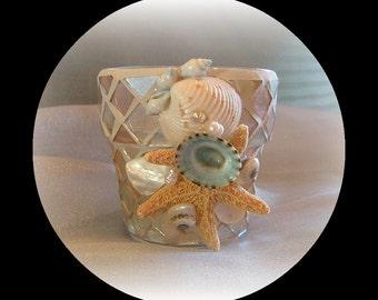 Sand and Seashells vases