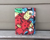 Ironman Three Fold Chain Wallet-Handmade