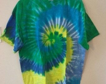 SALE 80s tie dye shirt tshirt hippie grunge 90s peace disco