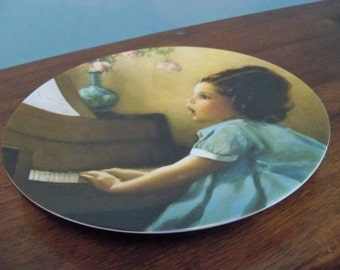 bessie pease gutmann collectible  plate  harmony 1981