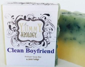 Clean Boyfriend Soap Bar