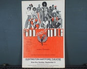 """Rare 1970s Black Musical  """"600 Dollars and a Mule"""" Los Angeles Cast Poster"""
