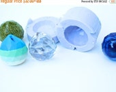 20% OFF Large 2 Piece Crystal Tear Drop Faceted Pendant Mold