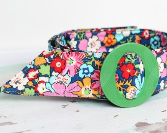 Liberty of London Bloomsbury Floral Fabrics Belt