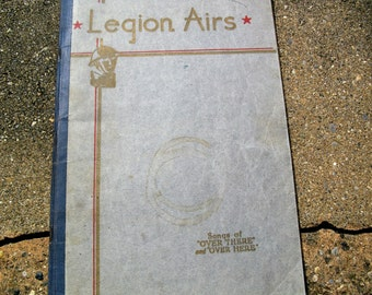 VIntage Music Book Legion Airs