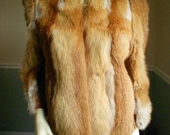 Vintage Red Fox Jacket