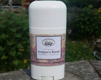Dragon's Blood PROBIOTIC Deodorant - Paraben & Aluminum Free