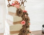 Custom Wedding Cake Replica Ornament-January 2016