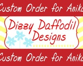Custom Listing for Anika - Wedding Program & Favor Tags