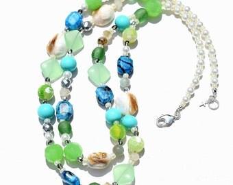 Summery Gemstones Necklace