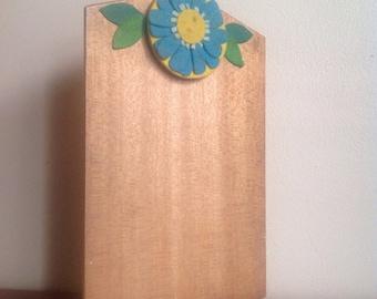 Vintage Clipboard. Hippie, 1960s, Boho.