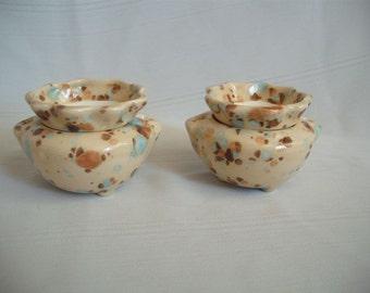 """1.75"""" Ceramic African Violet Pot / Planter / Set of 2"""