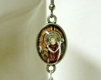 Archangel Raphael earrings - AP06-056