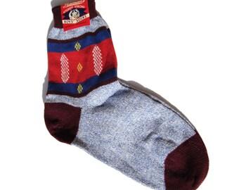 Vintage 40s Socks Penmans Multicolor Boys NOS with Labels Sz 8.5